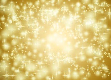golden star: Golden star background illustration Stock Photo