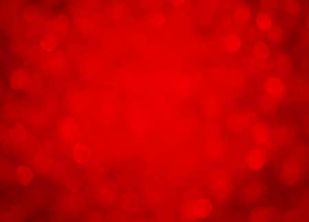 Fondo rojo efecto bokeh Foto de archivo