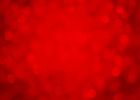 Red background bokeh effect
