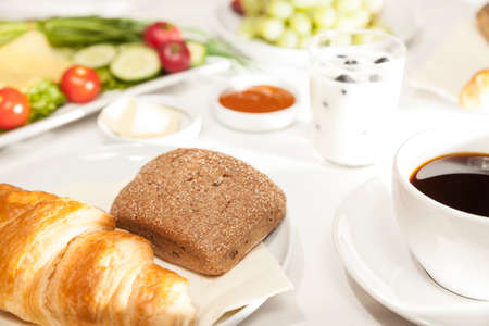 bap: Breakfast Stock Photo