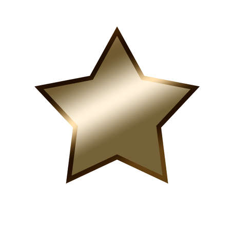 jewell: Golden star illustration