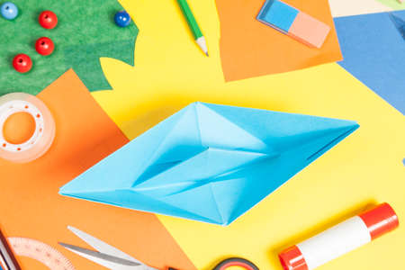 to tinker: Tinker  paper boat