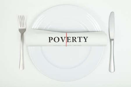 poorness: Poverty Stock Photo