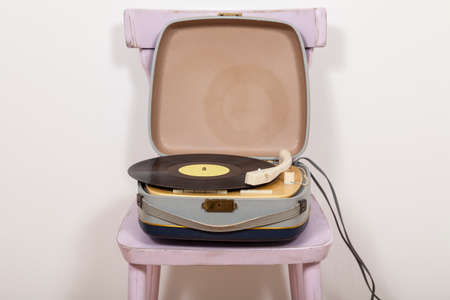 Turntable on chair