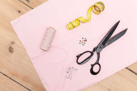 sewing supplies: Sewing supplies Stock Photo