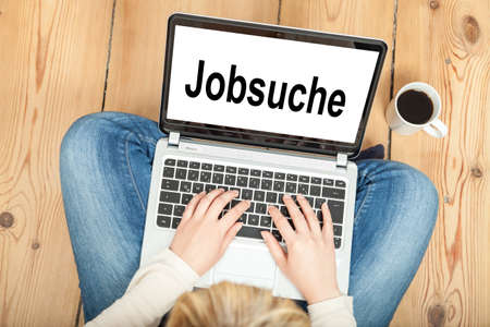 looking for a job: looking for a job (in german)