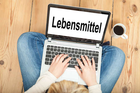 aliments: en ligne des produits alimentaires (en allemand)
