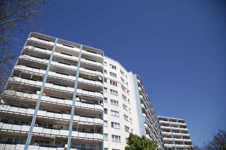 marzahn: Apartment building in Berlin Marzahn Stock Photo