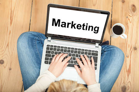 Marketing Stock Photo
