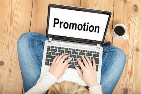 Promotion Фото со стока