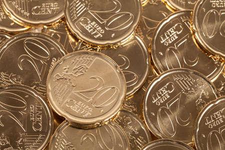 20 euro: 20 Euro cent coins