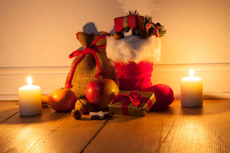 filled: Santa Boots