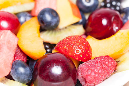 fruit salad close Stock Photo