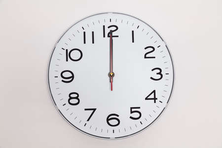 oclock: Twelve oclock Stock Photo