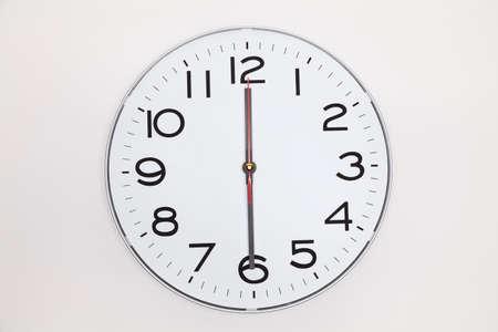 twelve: Half past twelve