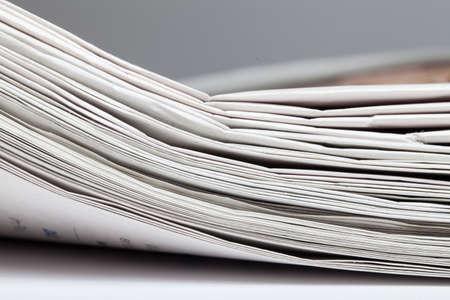 newspaper stack: Newspaper stack