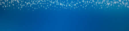 Blue background with christmasstars