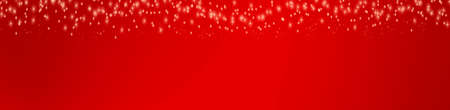 Stars on red background Stock Photo