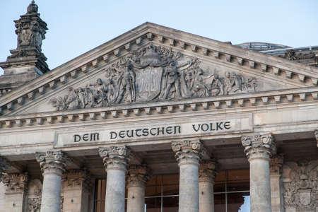 the parliament: German parliament