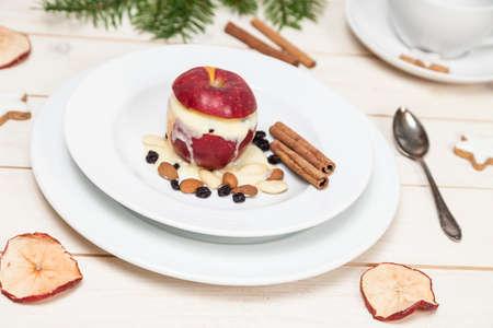 baked: Baked apple