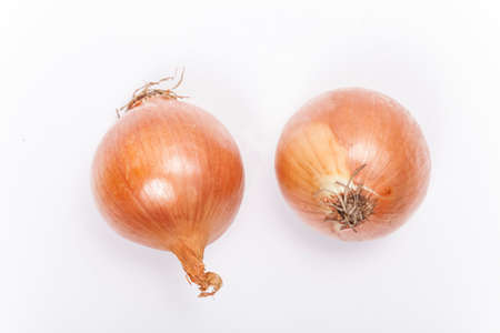 Onions isolated Stock Photo