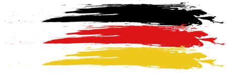 Deutschlandflagge Illustration