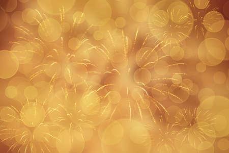 Goldener Silvesterhintergrund Standard-Bild