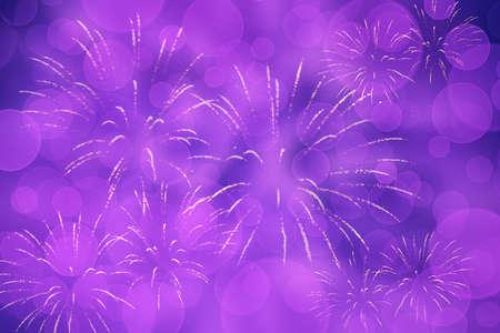 Violetter Silvesterhintergrund