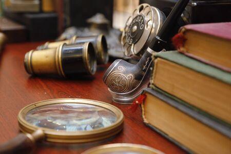 vintage items close up