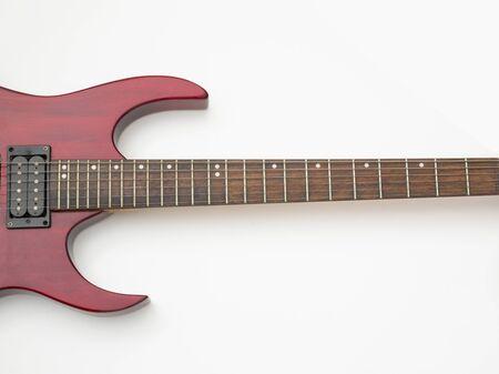 shot of electro guitar