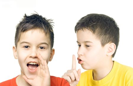 squall: Dont speak - communication concept