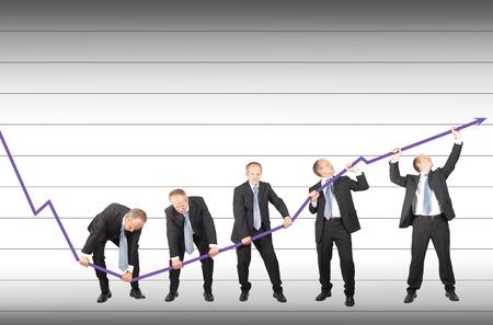 wartości: Przedsiębiorcy łączą wysiłki, aby przywrócić tendencję spadkową