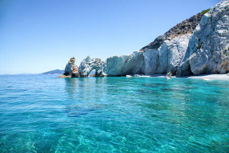 Beautiful beach with very clear water