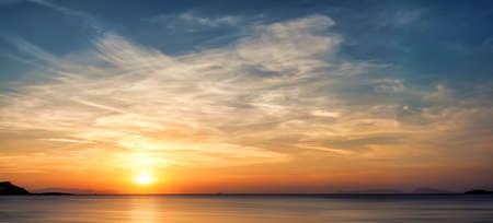 Beautiful sunset Stock fotó