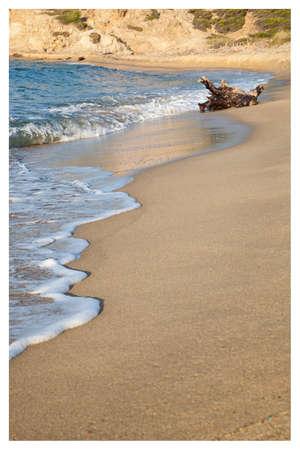 Plage, sable et mer Banque d'images - 98440528