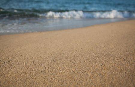 Plage, sable et mer Banque d'images - 98484101