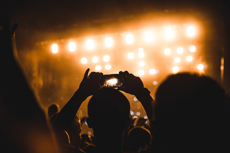 festival moments: Capturing best festival moments with mobile phone.