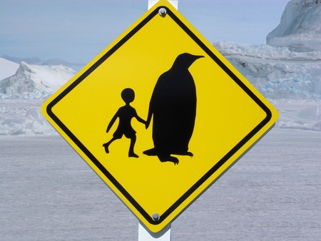 weddell: Panneau de signalisation - Traffic sign polar area