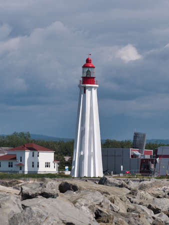 The 3rd Pointe-Au-Pere lighthouse was built in 1909 in the city of Pointe-au-Père, near Rimouski, Quebec, Canada.
