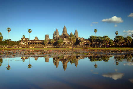 Angkor Wat in afternoon sunlight