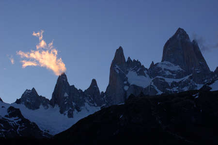 fitzroy: Mount Fitzroy in southern Argentina