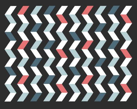Hand getrokken vector illustratie of het trekken van een geometrische achtergrond Stock Illustratie
