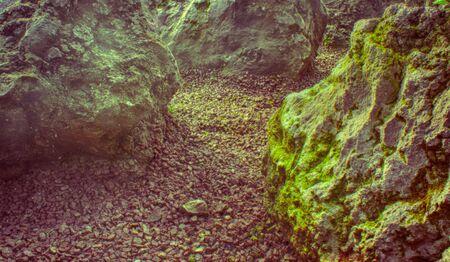 Photograph of some rocks Stock fotó
