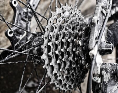Photograph of some bicycle gears Stock fotó
