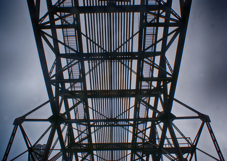 Industrial structure Stock fotó