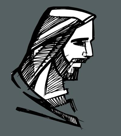 jesus face: Jesus face