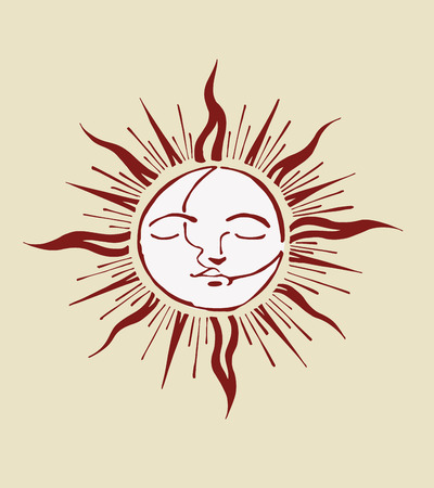 Sun and moon Imagens - 38755539