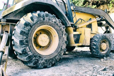 loader: Photograph of an end loader construction machine Stock Photo