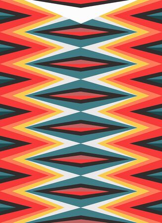 Vector illustration or drawing of an abstract geometric pattern