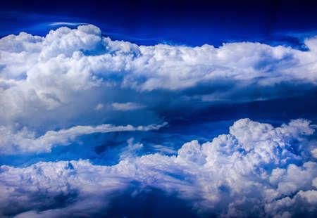 Photograph of a cloudy sky